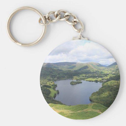 English Lake District Key Chain