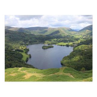English Lake District Postcard