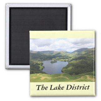 English Lake District Square Magnet