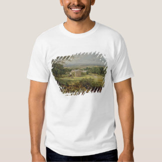 English landscape with a house, 19th century t-shirts