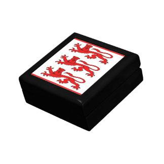 English Lions Flag Gift Box