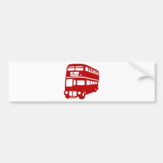 english london bus bumper sticker