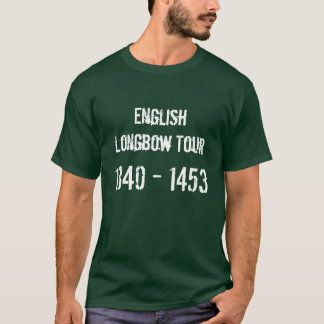 English Longbow Tour Tshirt