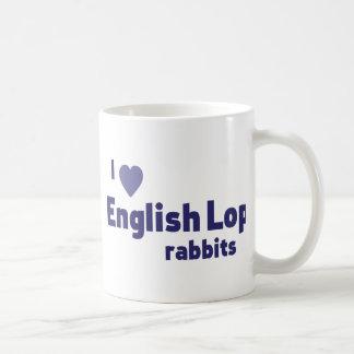 English Lop rabbits Basic White Mug