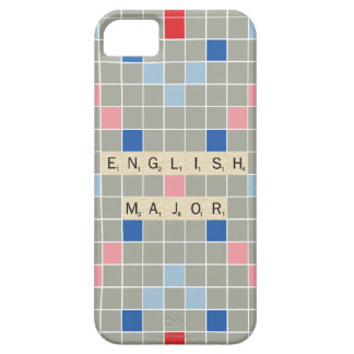 English Major iPhone 5/5S Covers