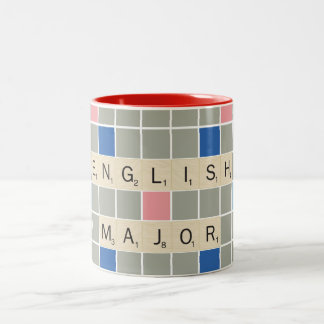 English Major Two-Tone Coffee Mug