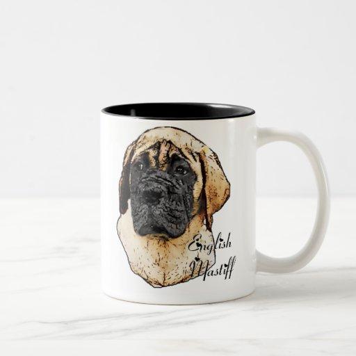 English Mastiff Art Gifts Mugs