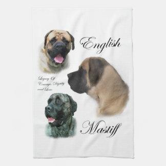 English Mastiff Art Kitchen Towel