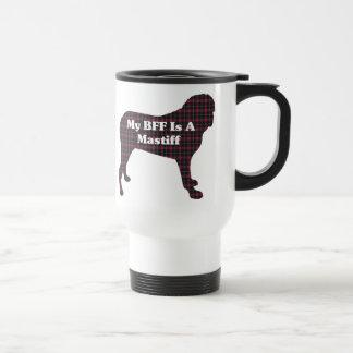 ENGLISH  MASTIFF BFF Gifts Stainless Steel Travel Mug