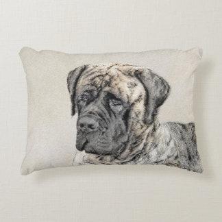 English Mastiff (Brindle) Decorative Cushion