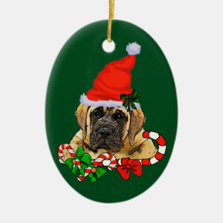 English Mastiff Christmas Christmas Ornament