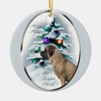 English Mastiff Christmas Gifts Ornament