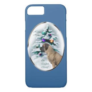 English Mastiff Christmas iPhone 7 Case
