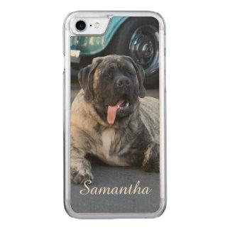 English Mastiff dog Carved iPhone 7 Case