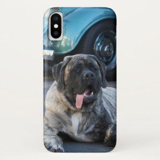 English Mastiff dog iPhone X case