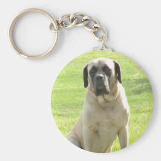 English Mastiff Keychain