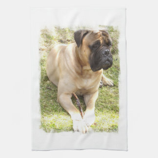English Mastiff Kitchen Towel