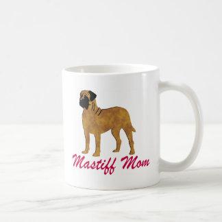 English Mastiff Mom Basic White Mug