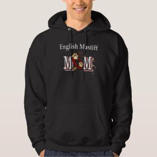 English Mastiff Mom Gifts Hoodie