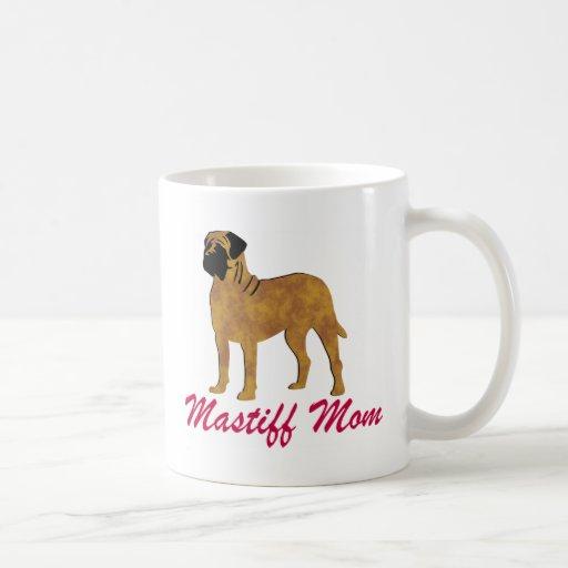 English Mastiff Mom Mugs