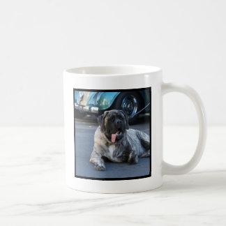 English Mastiff Classic White Coffee Mug