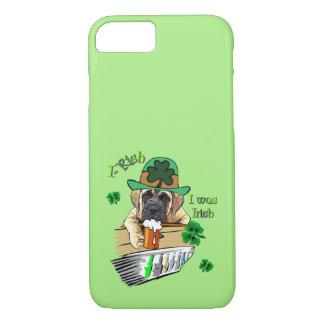 English Mastiff St Patricks iPhone 8/7 Case