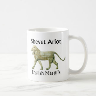 English Mastiffs, www.bia-aat.org Basic White Mug