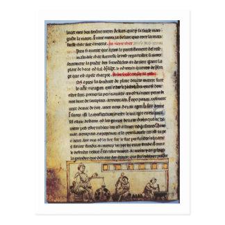 English miniature, 'Medica', illustrating an apoth Postcard