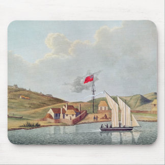 English Missionaries in Kidikidi, New Zealand Mouse Mat