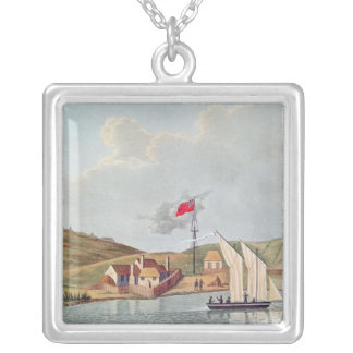 English Missionaries in Kidikidi, New Zealand Silver Plated Necklace