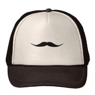 English Mustache Hats