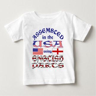 English Parts Front Baby T-Shirt