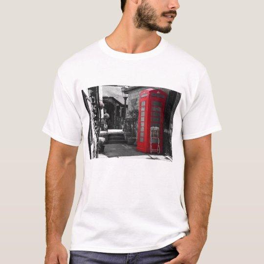 English Phone Booth T-Shirt