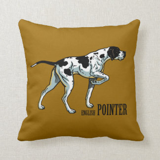 english pointer cushion