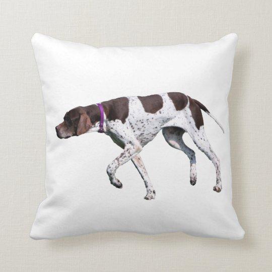 English Pointer dog beautiful photo cushion pillow