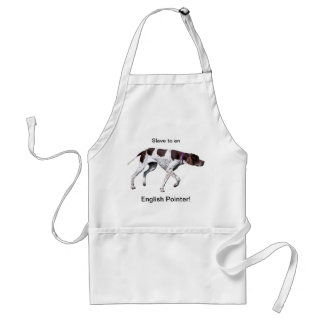 English Pointer dog beautiful photo, gift Standard Apron