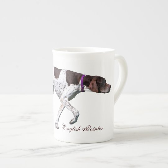 English Pointer dog beautiful photo, gift Tea Cup