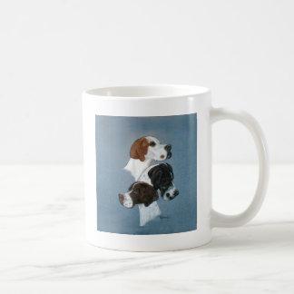 English Pointer Trio Head Study Coffee Mug