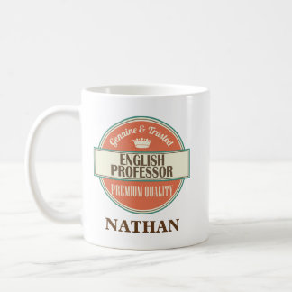 English Professor Personalized Office Mug Gift