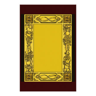 English Restoration Woodcarvings Inspired Statione Customized Stationery