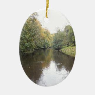 English river christmas ornament