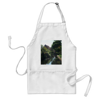 English River Scene Standard Apron