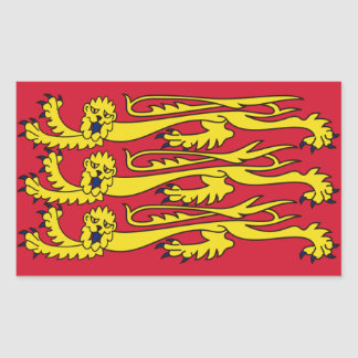 English Royal Banner Stickers