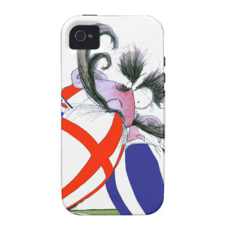 english rugby ball, tony fernandes iPhone 4 cover