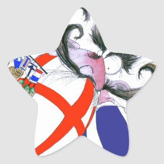 english rugby ball, tony fernandes star sticker