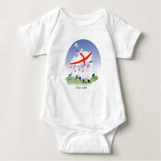 english rugby cheers, tony fernandes baby bodysuit