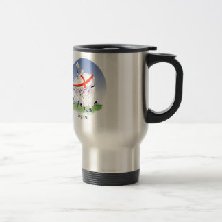 english rugby cheers, tony fernandes stainless steel travel mug