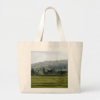 English Ruins Large Tote Bag