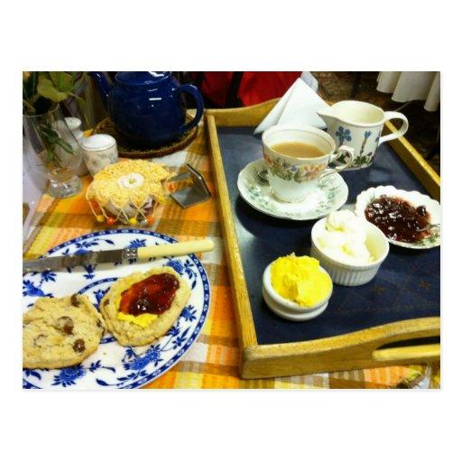 English Scenes, Afternoon Cream Tea 1 Postcards