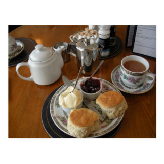 English Scenes, Afternoon Cream Tea Postcard
